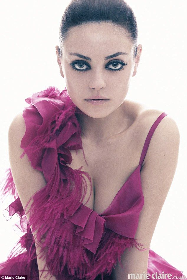 Censoring herself: Mila Kunis speaks out about her struggle with being in the spotlight as she poses for new magazine shoot