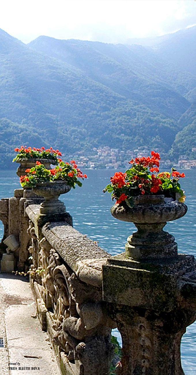 Villa del Balbiannello, Lenno, Lake Como, Italy.