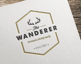 Popular items for rustic logo on Etsy