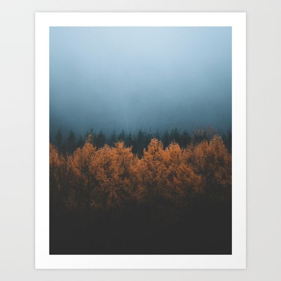 Nature's Gradient Art Print by Rustic Bones. Worldwide shipping available at Society6.com. Just one of millions of high quality products available.