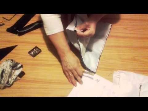 Návod na ušítí kabelky část 4. - YouTube