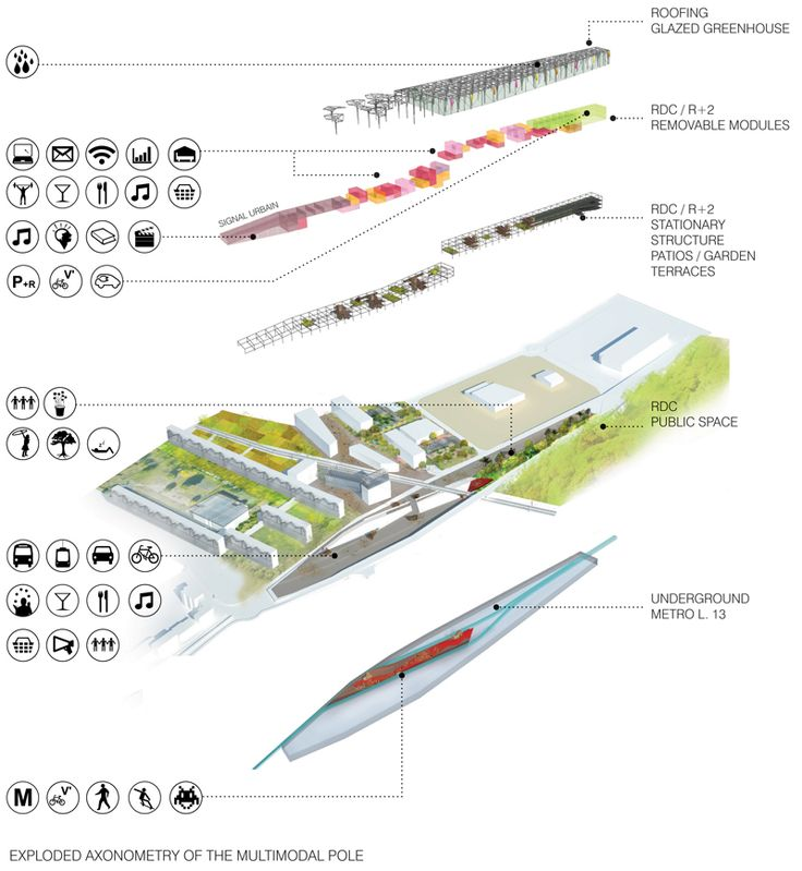 35 best architecture massing diagrams images on pinterest for Concept 8 architects