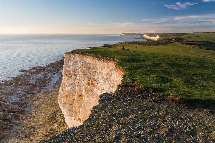 Beachy Head i Seven Sisters przepiękne klify niedaleko Londynu. Ciekawy pomysł na weekendowy spacer.