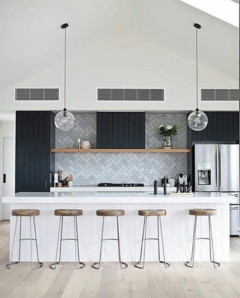Loving this kitchen with our Toledo pendants! Regram from @ikokadesign - I just can't get enough of this kitchen, perfectly captured by @danielletrovatopicturetaker #itseasytocookhere