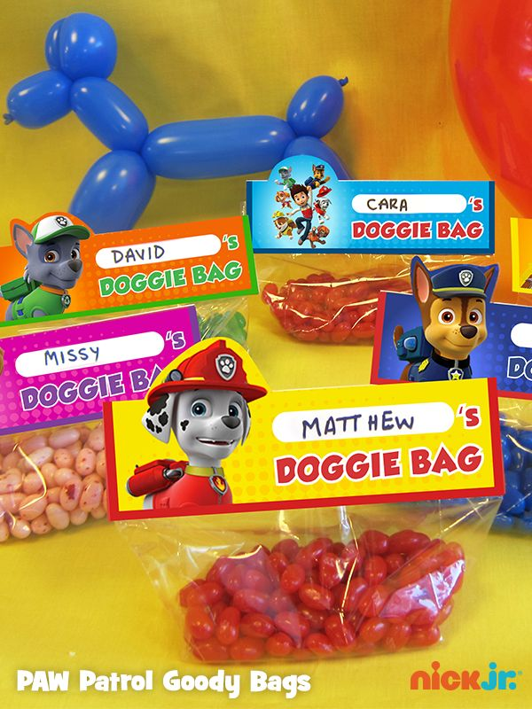 Featured Pin: Nick Jr.'s most popular DIY PAW Patrol party item!