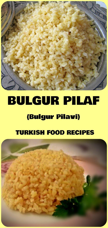 BULGUR PILAF – BULGUR PILAVI