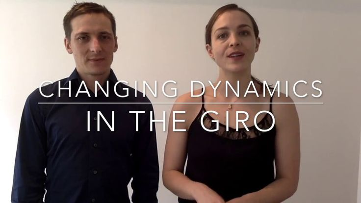 Changing dynamics in your tango: How to dance slower & faster giros