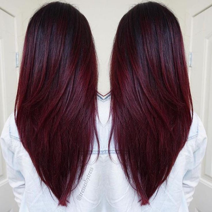 Best 25+ Wine red hair color ideas on Pinterest | Wine red ...