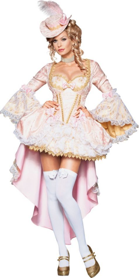 dazzle in this sexy marie antoinette queen of versailles costume designed to make you look hot - How To Make A Doll Costume For Halloween