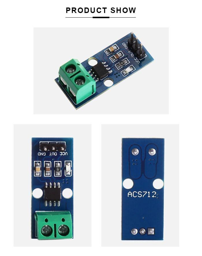 LDTR - WG0024 ACS712 30A Range Current Sensor Module | Electronics