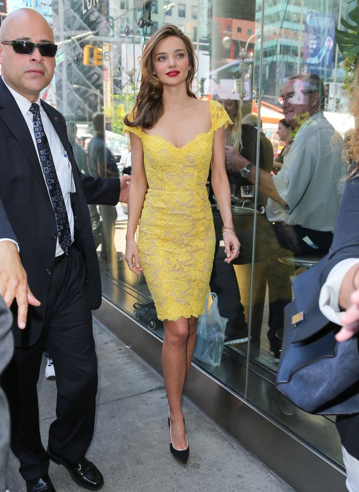 Model Miranda Kerr attends The Gillette Venus Step Up & Step Out Summer Tour Kick Off at Times Square in New York City.