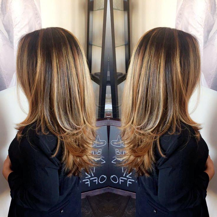 Caramel blonde hair for fall