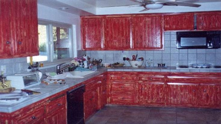 barn red distressed kitchen cabinets barn cabinets distressed kitchen r in 2020 with on r kitchen cabinets id=82147