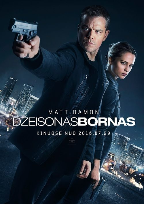 Watch Jason Bourne 2016 Full Movie Online Free