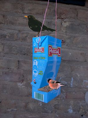 Another cute bird feeder for our feathered friends