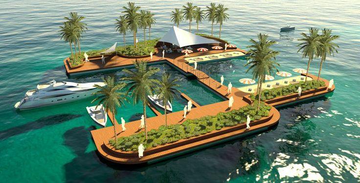Floating Marina Development, Latin America, Cartagena, Colombia, http://yook3.com, Wilfried Ellmer, Key player network.