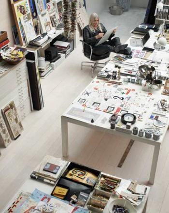 Artist's Loft Studio Interiors in Stockholm