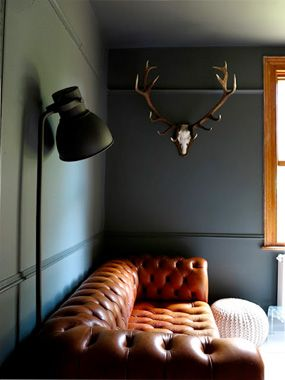 I like the moulding that just makes the wall more interesting    Cheap Remodeling Ideas That Add Elegance | Remodeling on a Budget