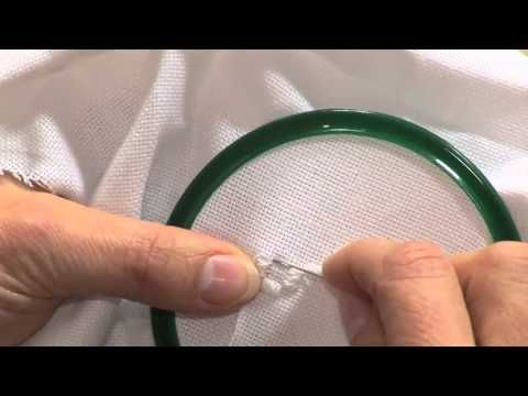 Very helpful Hardanger tutorial.