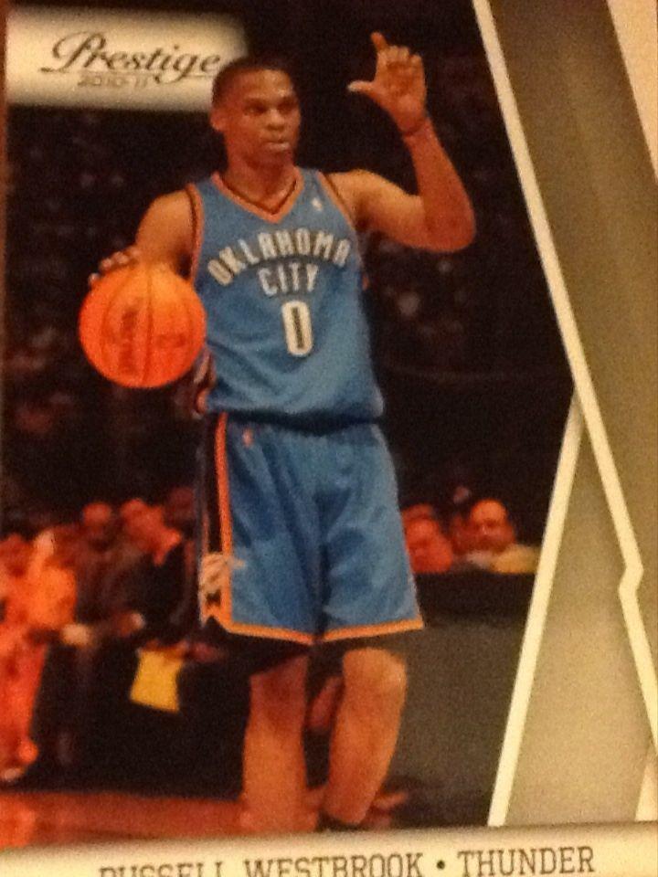 Russell Westbrook - Prestige 2011 Oklahoma City Thunder Card #84 #OklahomaCityThunder
