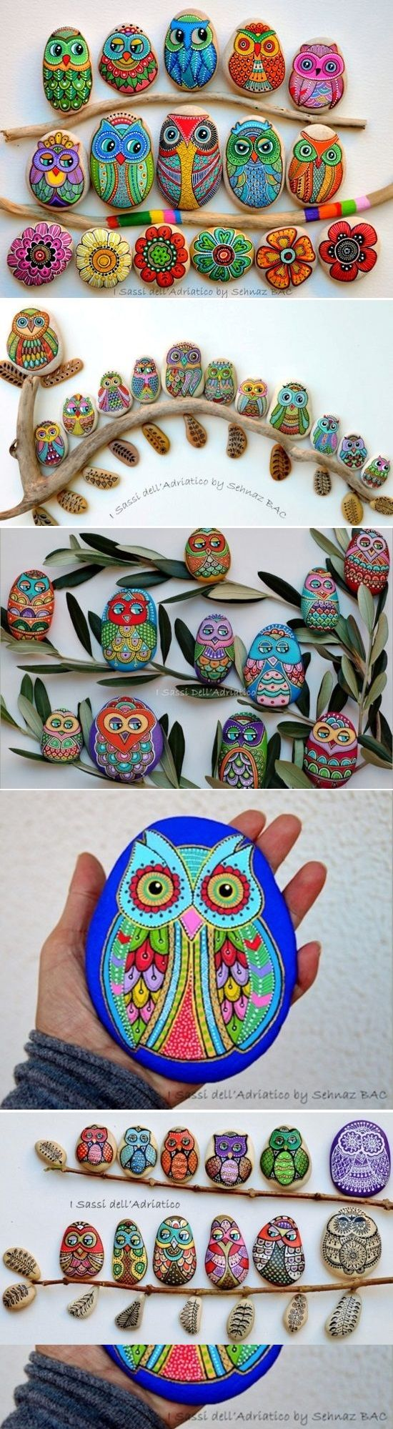 Today I bring you some examples of a stone can give more than a stone, especially if you have a little imagination and colorful paintings. After seeing these examples, you can be encouraged and may want to enter painting. Here are some useful tips if you are going to paint stones: Uses stones preferably of …