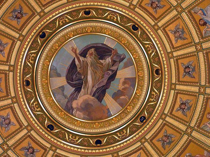 Bazilika kupola - Lotz Károly (festő) – Wikipédia