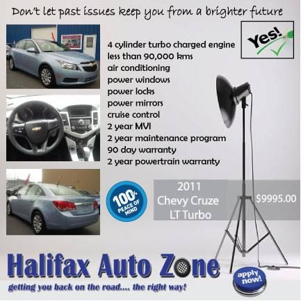 Better vehicles, better protection, better approvals...it's always better in The Zone! #halifaxautozone