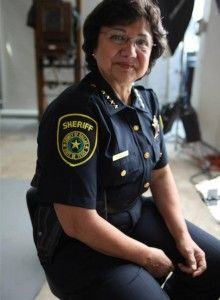 "Dallas County Sheriff Lupe Valdez is one of many LGBT community members and celebrities featured on HBO's ""Out List"""