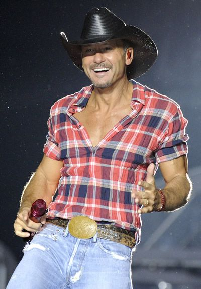 Tim McGraw would you join me for some supper?