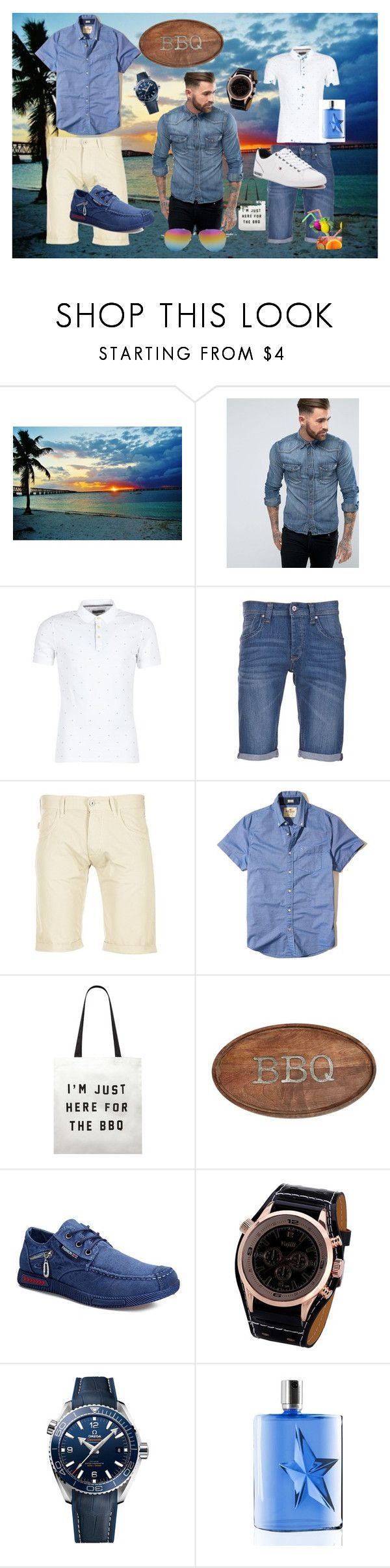 """""""A Man's Look!"""" by ritty18 on Polyvore featuring Nudie Jeans Co., Calvin Klein Jeans, Pepe Jeans London, Armani Jeans, Hollister Co., Forever 21, Mud Pie, OMEGA, Thierry Mugler and men's fashion"""