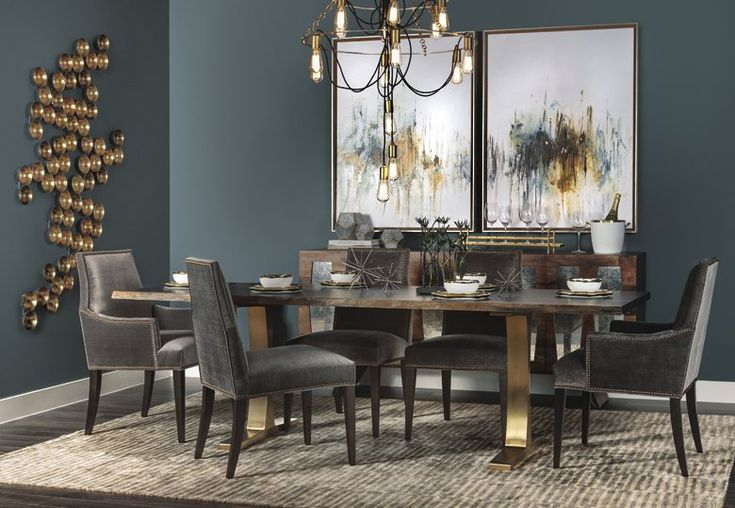 Hfh love table chairs color combo divine inspiration for Dining room colour inspiration