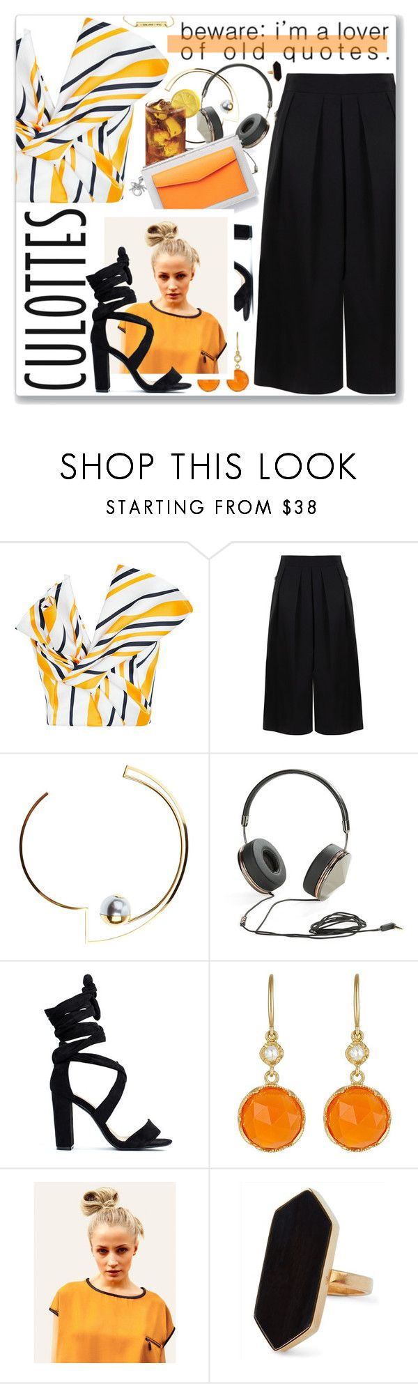 """""""Kill Em With Kindness, Selena Gomez"""" by blendasantos ❤ liked on Polyvore featuring Maticevski, BIG PARK, LeiVanKash, Frends, Christian Dior, Irene Neuwirth, Hershesons, Jaeger, TrickyTrend and culottes"""