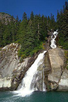 Tracy Arm Cascade, Tongass National Forest, Alaska