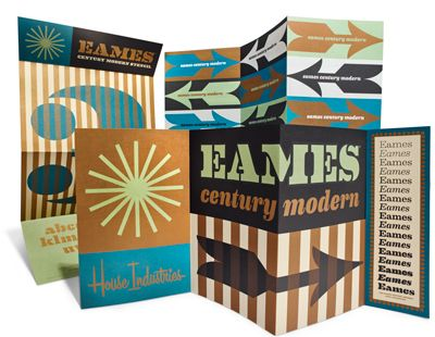 Eames 2015 mailer the typeface tool box pinterest for House industries eames