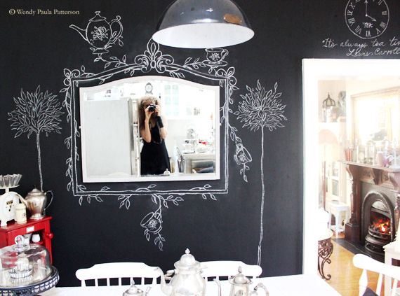 Mirror, Mirror on the chalk board wall