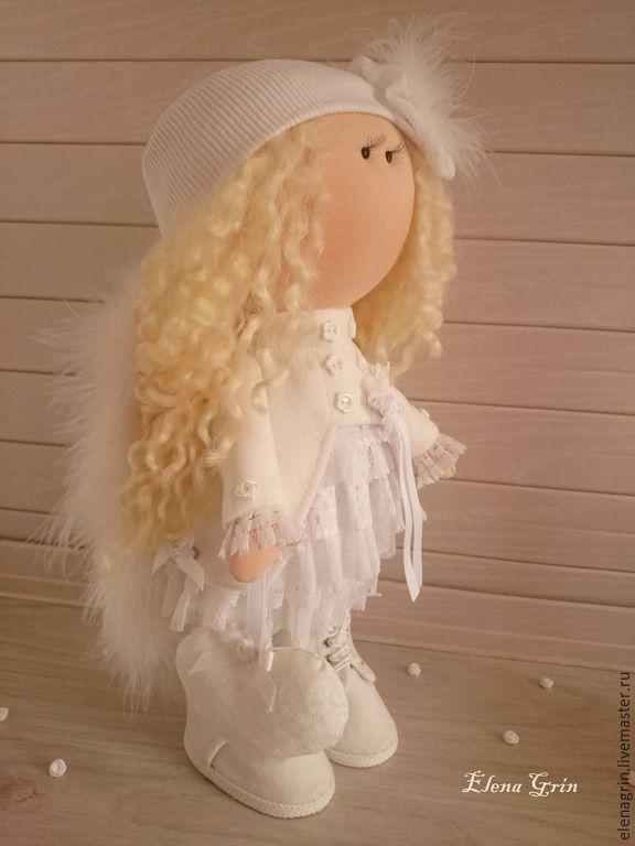 Интерьерная текстильная кукла Ангел - Elena Grin (интерьерные куклы) - Ярмарка Мастеров http://www.livemaster.ru/item/11669491-kukly-igrushki-interernaya-tekstilnaya-kukla