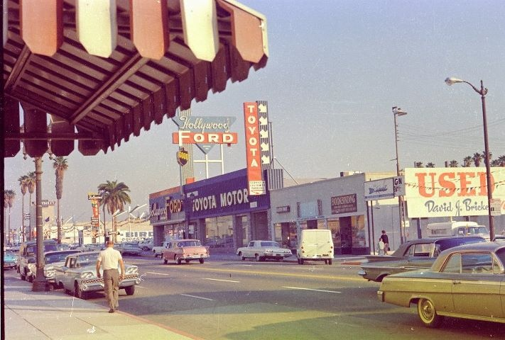 Founded on October 31, 1957 - Hollywood becomes more than the entertainment capital of the world when Toyota USA opens its headquarters in a former Rambler dealership.