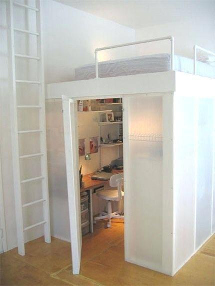 Bunk Beds Built Into Closet Bunk Beds With Built In Closet