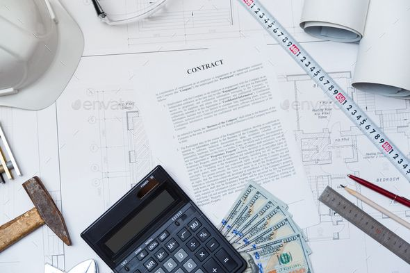 Conclusion of a business contract for construction  Hiring