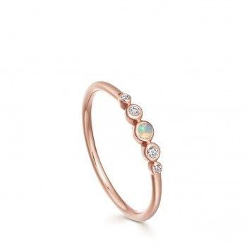 Mini Icon Nova Opal Ring Retro Rings Opal Rings Rings Opal