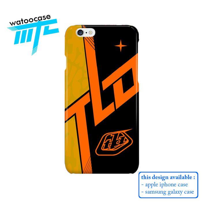 Troy Lee Design Skyline Orange Phone Case | Apple iPhone 4 4s 5 5s 5c 6 6s Plus Samsung Galaxy S3 S4 S5 S6 S7 EDGE Hard Case