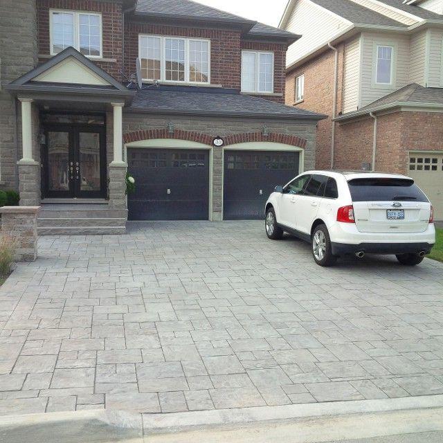 Home Driveway Design Ideas: Interlock Driveway