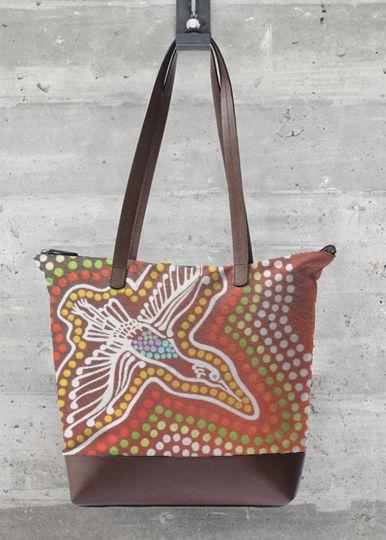 Beutiful Statement Bag for sale - Flight of Purpose from #IanAndersonFineArt #FeastFashion #Vida
