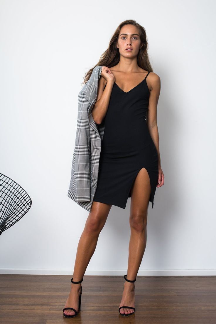 London Dress - Black