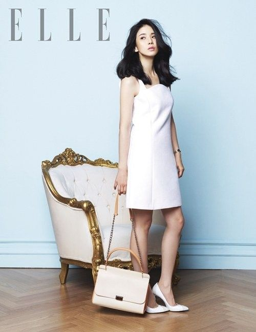 Lee Bo Young is a refined lady for 'ELLE'   allkpop.com