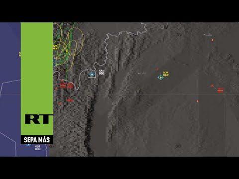 Rusia muestra el mapa sobre cómo fue el derribo del Su-24