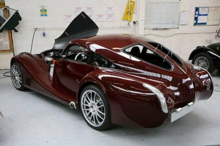 Morgan cars - Beautiful!  (Morgan cars are made with wood)
