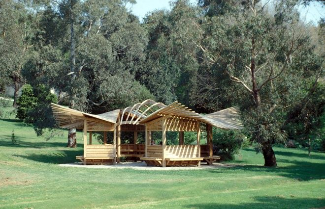 Heide Rose Pavilion - Gregory Burgess Architects