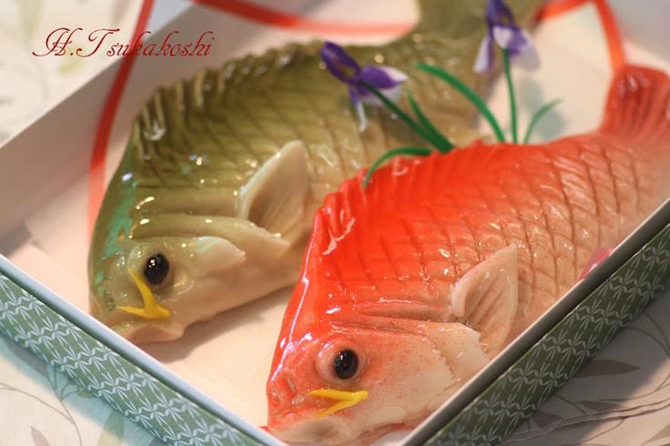 Japanese sweet(Carps)