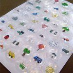 How To Make a Recycled Bubble Wrap Travel Game | Apartment Therapy